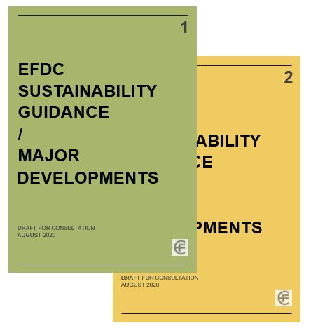 EFDC Sustainability Guidance covers