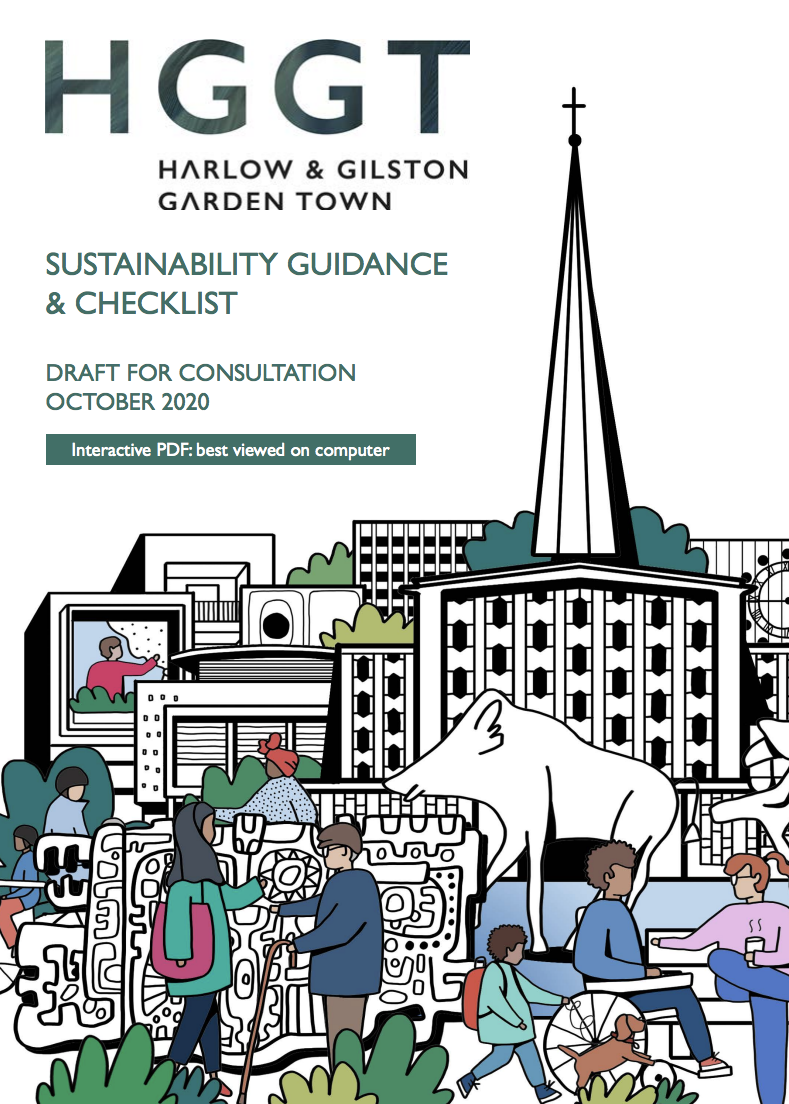 Sustainability Guidance and Checklist Cover Page