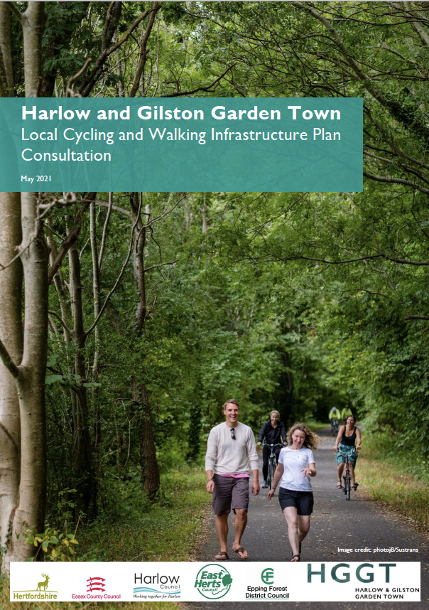 Local Cycling and Walking Infrastructure Plan Consultation document front page