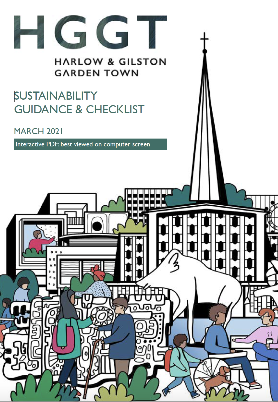 SUSTAINABILITY GUIDANCE & CHECKLIST front page