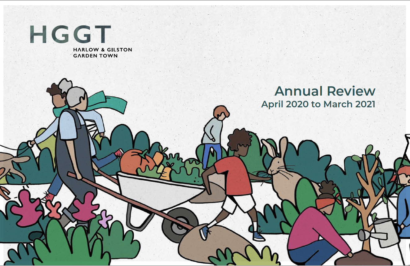 front page of HGGT's Annual Review April 2020 to March 2021