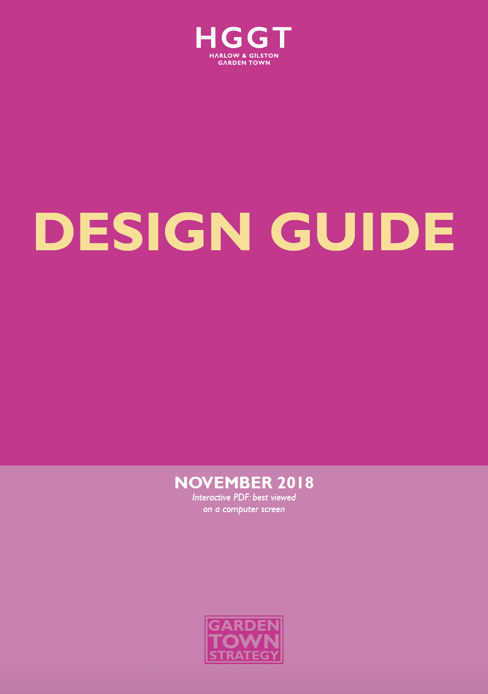 HGGT Design guide 2018 front page